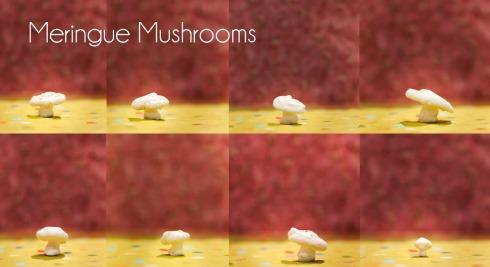 Mini Meringue Mushrooms